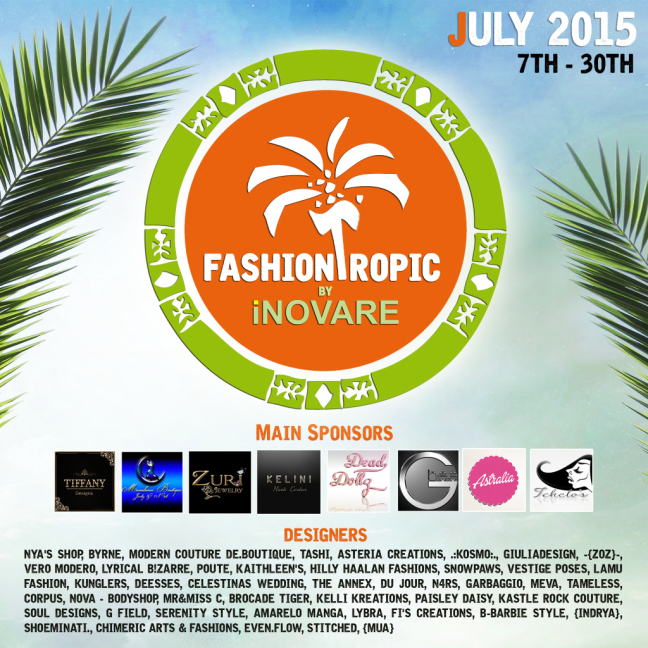 Fashiontropic poster for blogs
